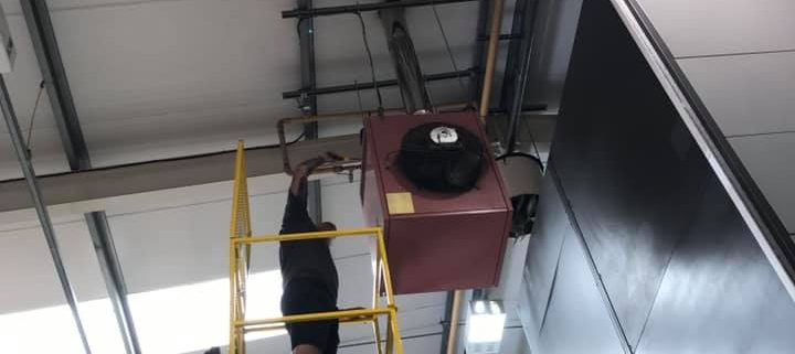 Over head heating Derby Service